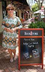 Gail at Bookstore 1 Sarasota