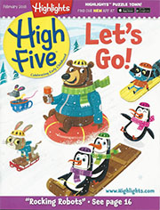 cover of High Five February 2018